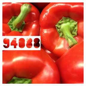 94088 Red Bell Peppers iPhone Organic Show Artist Dean Allan McCready